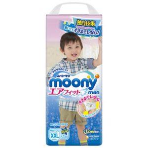 Трусики-подгузники Moony для мальчиков XXL 13-25 кг
