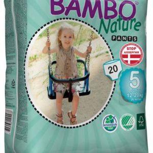 "Bambo Nature Подгузники-трусики ""Junior"" 5, 12-20 кг, 20 шт"