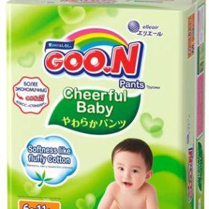 Трусики-подгузники Goon Cheerful Baby М (6-11 кг) 58 шт.