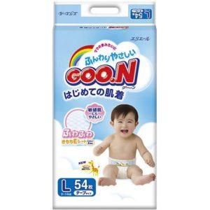 Goon Подгузники Goon, L 9-14 кг, 54 шт.