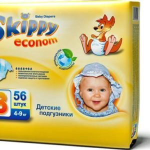 Skippy Подгузники детские More Happiness 4-9 кг 56 шт