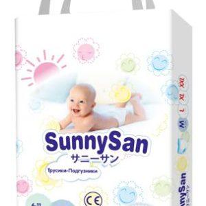Трусики-подгузники SunnySan M (6-11 кг) 58 шт.