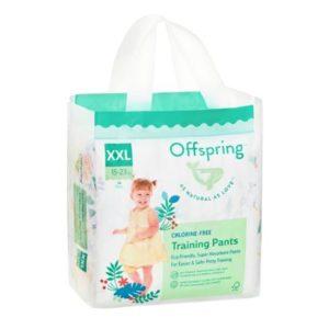 Подгузники-трусики Offspring XXL 15-23 кг. 24 шт. расцветка Джунгли