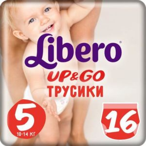 Libero Трусики Up&Go Size 5 10-14 кг 16 шт
