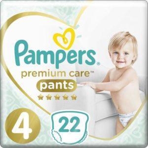 Pampers Pants Трусики Premium Care 9-15 кг (размер 4) 22 шт