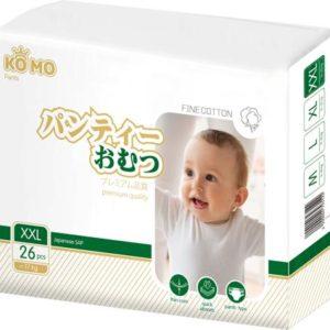Трусики-подгузники Ko Mo Ko Mo XXL (c 17 кг) 26 шт