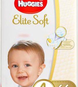 Huggies Подгузники Elite Soft 8-14 кг ( размер 4) 66 шт