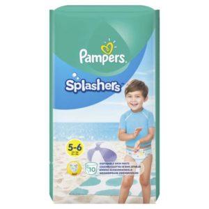 Трусики-подгузники Pampers «Splashers» для плавания Junior-Extra Large (14 кг) 10 шт