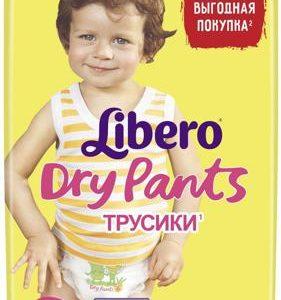 Трусики Libero Dry Pants Size 6 (13-20 кг), 46 шт