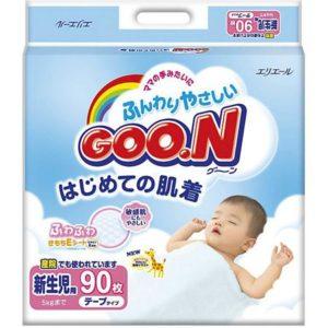 Goon Подгузники Goon, NB до 5 кг, 90 шт.