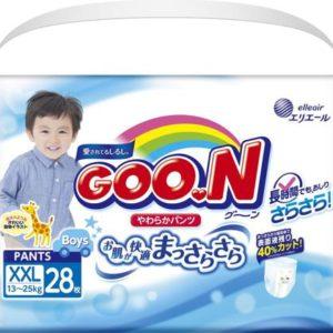 GOON Подгузники-трусики для мальчиков 13-25 кг, 28 шт
