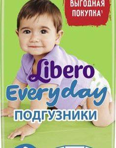 Libero Подгузники Everyday Size 4 (7-18 кг) 66 шт