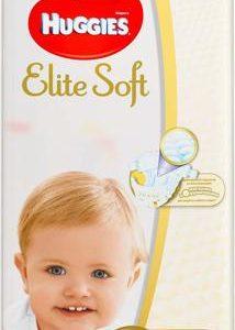 Huggies Подгузники Elite Soft 12-22 кг (размер 5) 56 шт