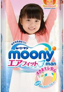 Подгузники Moony man Man для девочек XL (12-17кг) 38 шт.