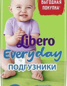 Libero Подгузники Everyday Size 5 (11-25 кг) 56 шт