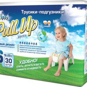 Подгузники-трусики детские Skippy Pull Up, 16-25 кг, 7055, 30 шт