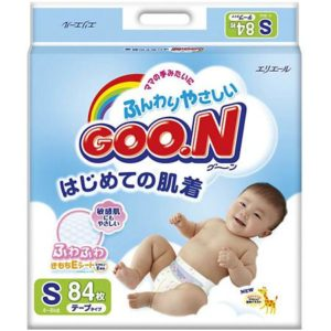 Goon Подгузники Goon, S 4-8 кг, 84 шт.