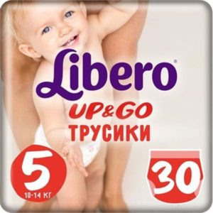 Libero Трусики Up&Go Size 5 (10-14 кг) 30 шт