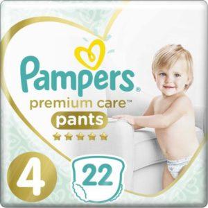 Pampers Pants Трусики Premium Care 9-14 кг (размер 4) 22 шт