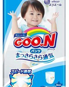 Трусики для мальчиков Goon L (9-14 кг) 44 шт.