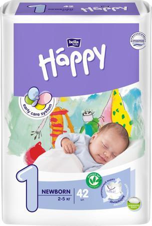 Bella baby Happy Подгузники, 2-5 кг, 42 шт