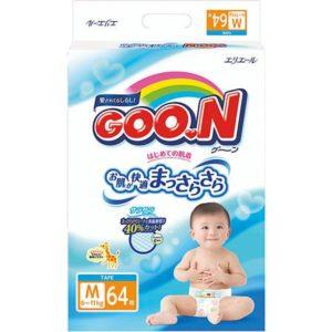 Goon Подгузники Goon, M 6-11 кг, 64 шт.