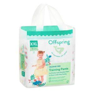 Подгузники-трусики Offspring XXL 15-23 кг. 24 шт. расцветка Совы